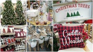 CHRISTMAS DECOR SHOP WITH ME AT HOMEGOODS, TJ MAXX, KOHLS + BATH AND BODY WORKS HAUL