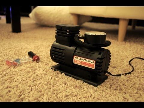 10$ 12v Air Compressor FAST Review / Safety & Project Instructions! (Ebay Compressor)