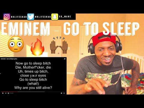 Eminem - Go to Sleep (Lyrics On Screen) | REACTION - No Life