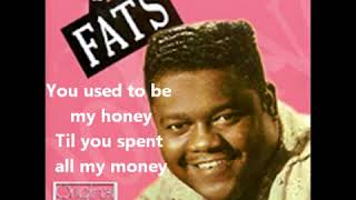 Fats Domino - I'm Walking To New Orleans