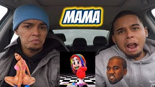 6IX9INE - MAMA (feat. Nicki Minaj, Kanye West) REACTION REVIEW