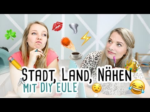 Stadt, Land, Nähen mit DIY Eule // delari