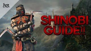For Honor - Becoming a Shinobi GOD! - Beginner/Advanced Guide - dooclip.me