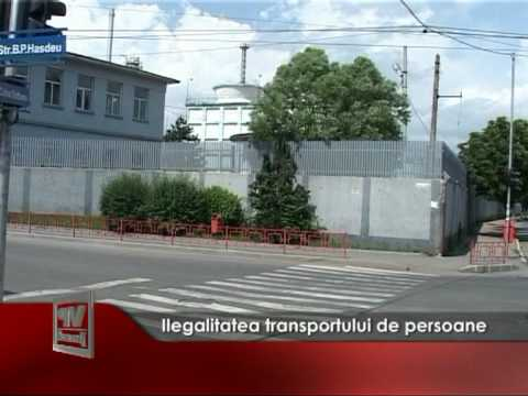 Ilegalitatea transportului de persoane