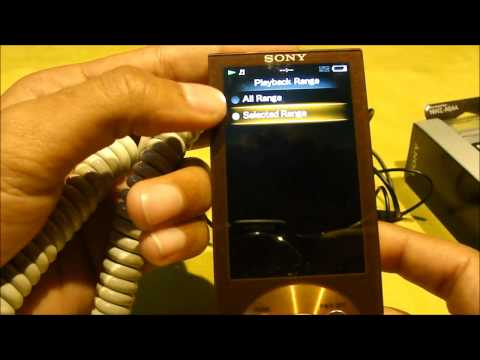 Sony Walkman A844 Media Player Review by TECHHUNGER.wmv