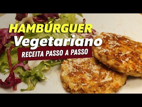 Imagem ilustrativa do vídeo: HAMBÚRGUER VEGETARIANO DELICIOSO