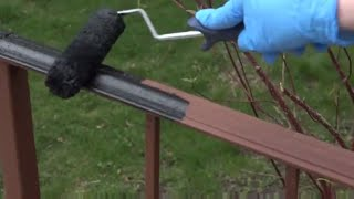 How To Paint A Rusted Wrought Iron Railing