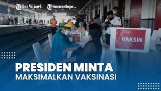 Presiden Jokowi Minta Bima Arya Maksimalkan Vaksinasi hingga Agustus