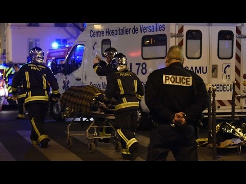 Hundreds killed in Paris terror attacks
