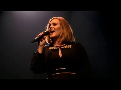 Adele - Hello (Live at The Wiltern) 2/12/2016