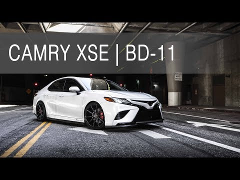 2018 Toyota Camry XSE | BD-11 Gloss Black