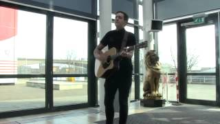 [HD] Stevie McCrorie - Lost Stars (Acoustic live at Daily Record)