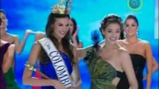 Miss Colombia 2010 - Crowning Moment