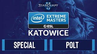SC2 - SpeCial vs. Polt - IEM Katowice 2020 - Group C