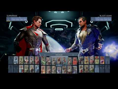 Injustice 2 - Superman VS Black Adam