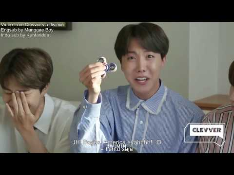 [ INDO Sub ] BTS on Clevver TV