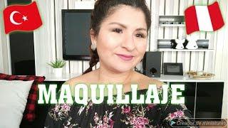 MAQUILLAJE SENCILLO /PERUANA VIVIENDO EN TURQUIA