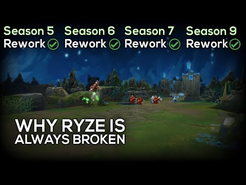 Why Riot Was Forced To Rework Ryze AGAIN In Season 9
