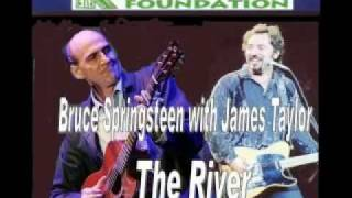 Bruce Springsteen with James Taylor - The River