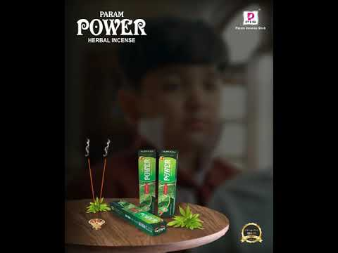 Param Power Herbal Mosquito Agarbatti