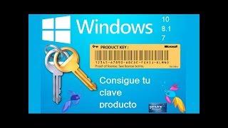 Obtener Clave de mi Windows Sin Necesidad de Programas   Tutorial