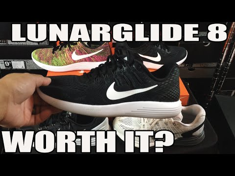 Is it Worth Buying? Nike Lunarglide 8 Review (Comparison & On Feet)
