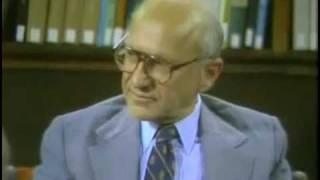 סרטון של מילטון פרידמן האיש והאגדה