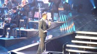 (HD) Michael Buble For Once In My Life Vancouver