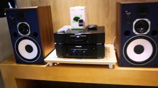 JBL 4307 & Belkin HD Music Receiver