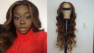 Caramel Blonde Balayage Ombré With Blonde Patch Tutorial Ft. XOXO Virgin Hair | Gbemi Abiola