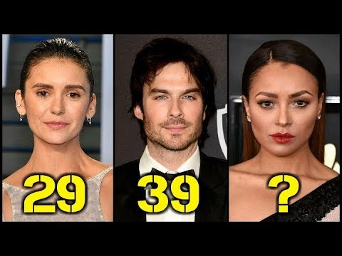 The Vampire Diaries From Oldest to Youngest