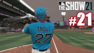 TROUT WON'T STOP HOMERING! | MLB The Show 21 | Diamond Dynasty #21