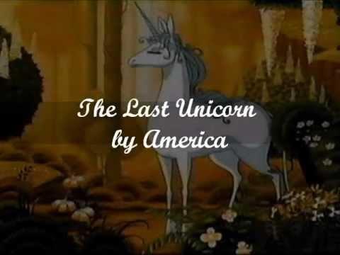 America- The Last Unicorn (LYRICS)