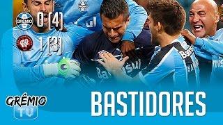 [BASTIDORES] Grêmio 0 (4)x(3) 1 Atlético-PR (Copa Do Brasil 2016) L GrêmioTV