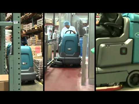 T12 Ride-On Scrubber Product Highlights Video