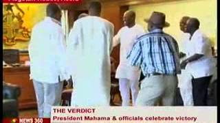 Election Petition - How The President Recieved the Verdict.