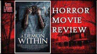 A DEMON WITHIN ( 2017 Charlene Amoia ) aka NEFAS Horror Movie Review