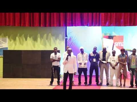 Artistes Unis pour la Paix intervention de Aboubacar Magagi SOIREE DE GALA HADY LINE