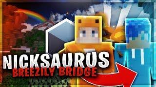 NICKSAURUS11 hace BREEZILY BRIDGE en SKYWARS😜 - MrDeivid