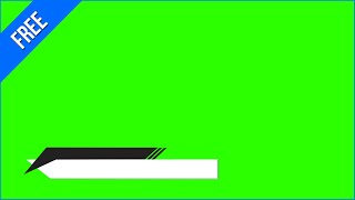 Green Screen Title Overlays|Rectangle,Triangles - Most