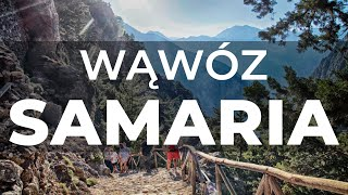 The Samaria Gorge in the eye of our camera