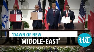 Israel, UAE & Bahrain sign historic deal, Trump says more want to join - Download this Video in MP3, M4A, WEBM, MP4, 3GP