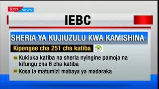 Jinsi sheria inavyosema kuhusiana na kujiondoa kwa kamishina yoyote katika tume ile