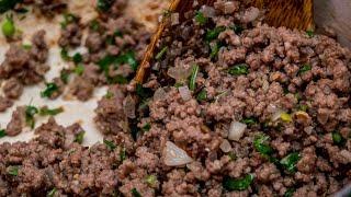 How to make Samosa Minced meat