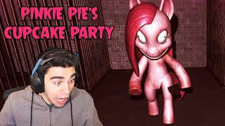 PINKIE PIE CAME BACK TO LIFE TO END ME!!! - Pinkie Pies Cupcake Party #1 (Full Game)