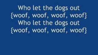 Baha Men - Who Let The Dogs Out with lyrics (official dance Remix)