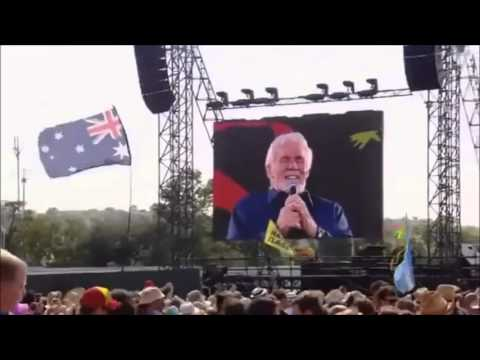 Kenny Rogers- She Believes in me.  Live