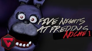 FIVE NIGHTS AT FREDDY'S 1: NOCHE 1   BONNIE ME VIGILA | ITownGamePlay (Night 1)