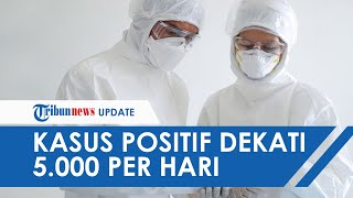 UPDATE Kasus Covid-19 di Indonesia, Rekor Baru Bertambah 4.823 Kini Jumlahnya 266.845