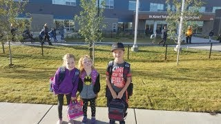 First day for new schools opening in Saskatchewan